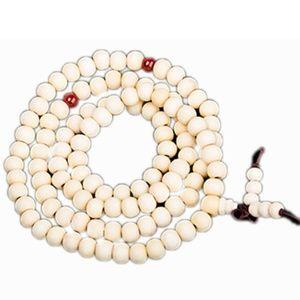 Jewelry - Sandalwood Wood Prayer Mala Beaded Wrap Bracelet